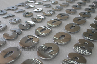 ABS Milled and Chrome Plated Prototypes